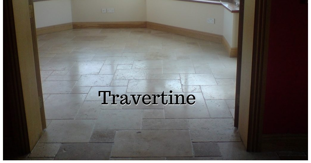 Travertine natural stone cleaning